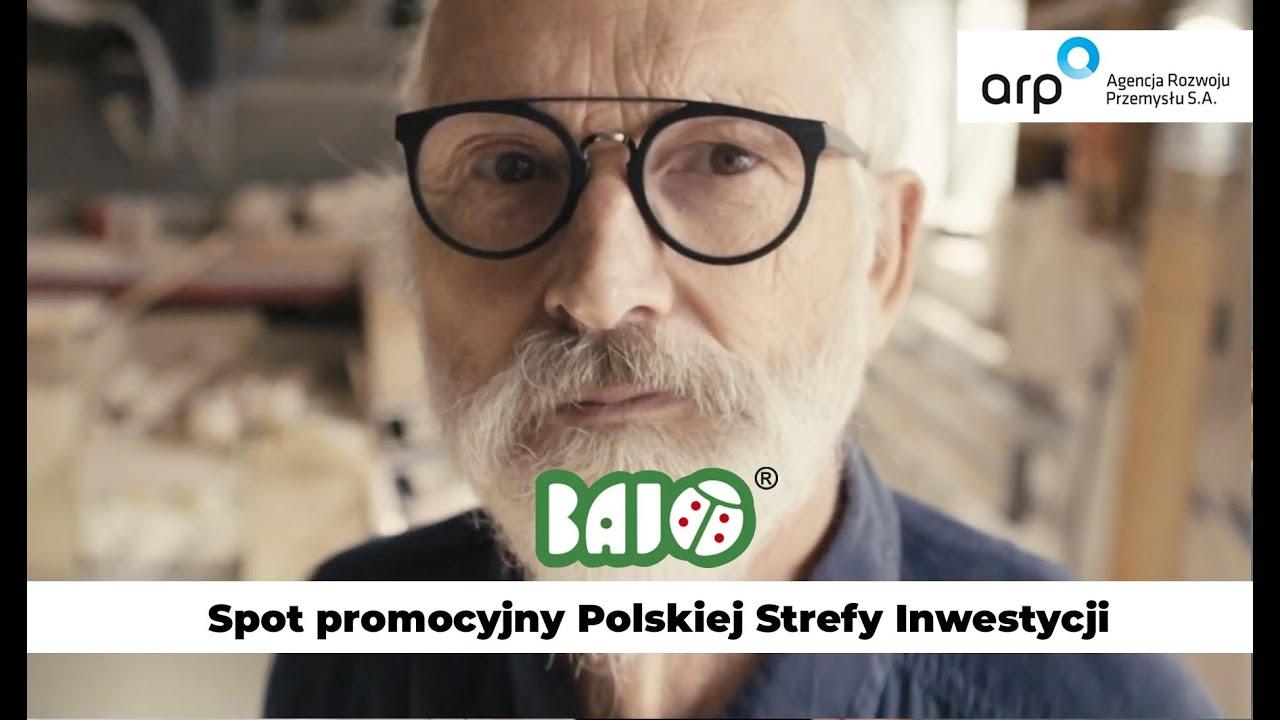 Polska Strefa Inwestycji. Firma - Bajo - producent zabawek drewnianych. TV