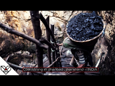 Coal Mining in INDIA (Dhanbad) B.C.C.L - Coal India