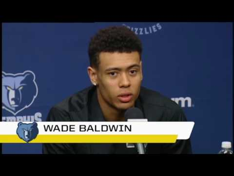 Wade Baldwin & Deyonta Davis Press Conference   Memphis Grizzlies ¦ 2016 NBA Draft