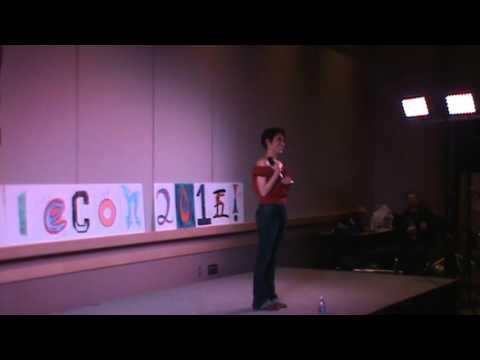 EvilleCon 2015 - Cristina Vee performing.