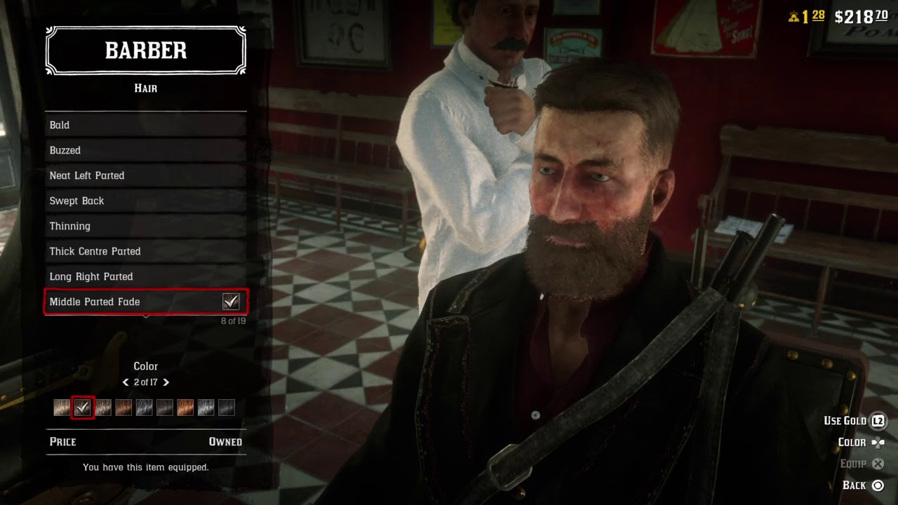 Red Dead Online - All Hairstyles and Facial Hair Options