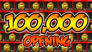 ULTIMATE 100,000 ZOMBIE SUPPLY DROP OPENING! - INFINITE WARFARE ZOMBIES CRATE OPENING! (IW Zombies)