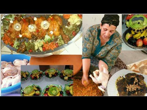 أسرااار تحضير الدجاج المعمر والمحمر  ،الخاص بالمناسبات من يد الطباخة المحترفة ' فاطيمة لمراني'