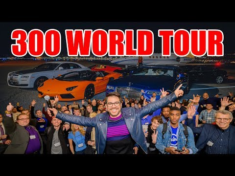World Tour: I'm Taking 300 People From Rags To Riches