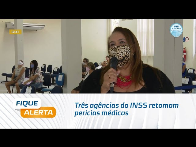 Três agências do INSS retomam perícias médicas em Alagoas
