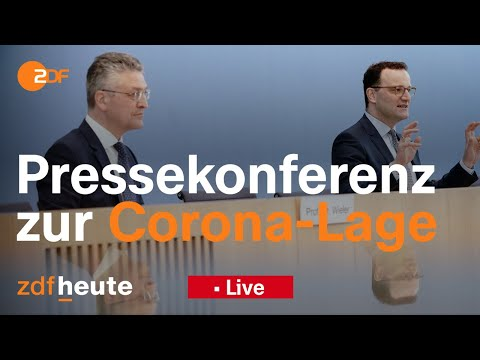 Spahn und Wieler zur Corona-Lage in Deutschland