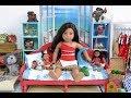 American Girl Doll Moana Bedroom!