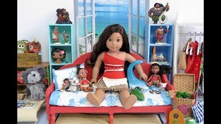 American Girl Doll Moana Bedroom!