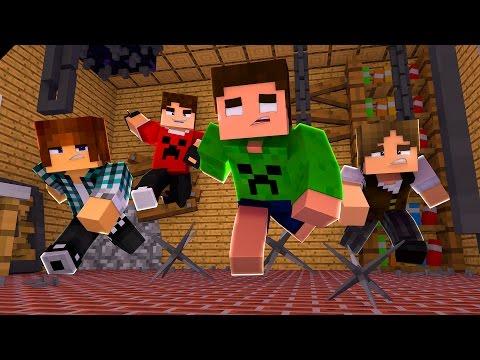 EQUIPE MAIS LOUCA !! - Minecraft Murder (Com Authentic, Spok e Jazz)