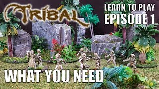 Ep 1 Tribal - What you  need