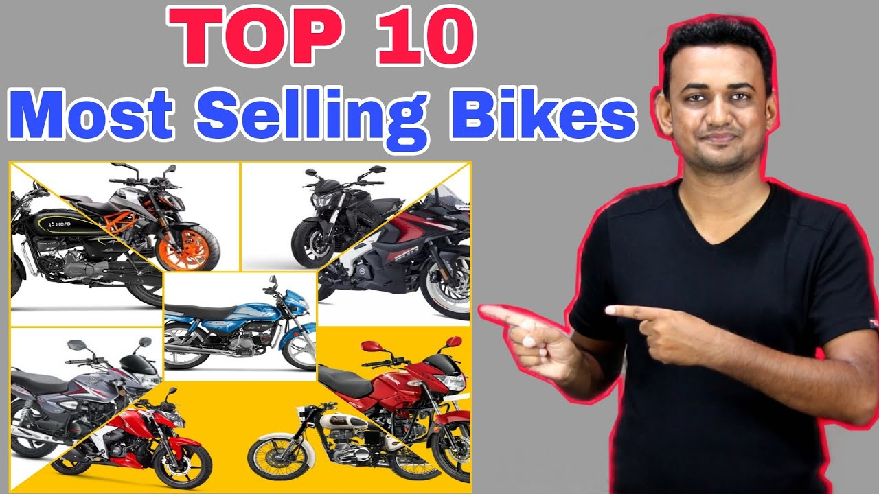 Top 10 Most Selling Motorcycles (Bikes) In India | 10 Bikes That Indian Loves The Most In 2021