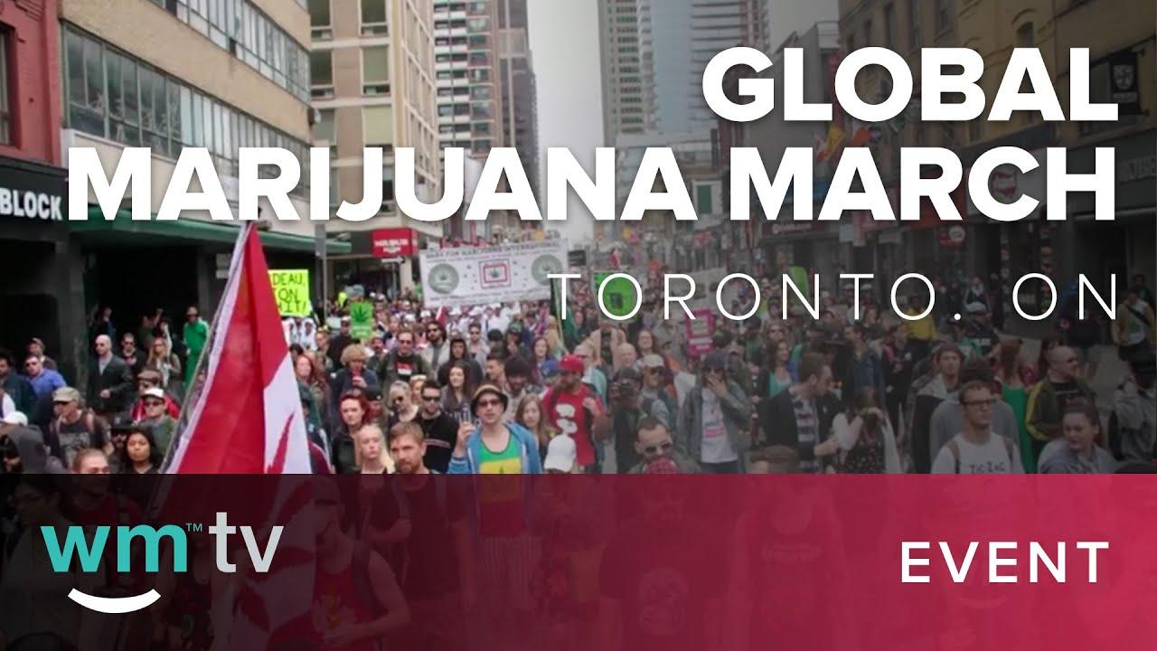 Toronto Global Marijuana March 2016 in Toronto, ON