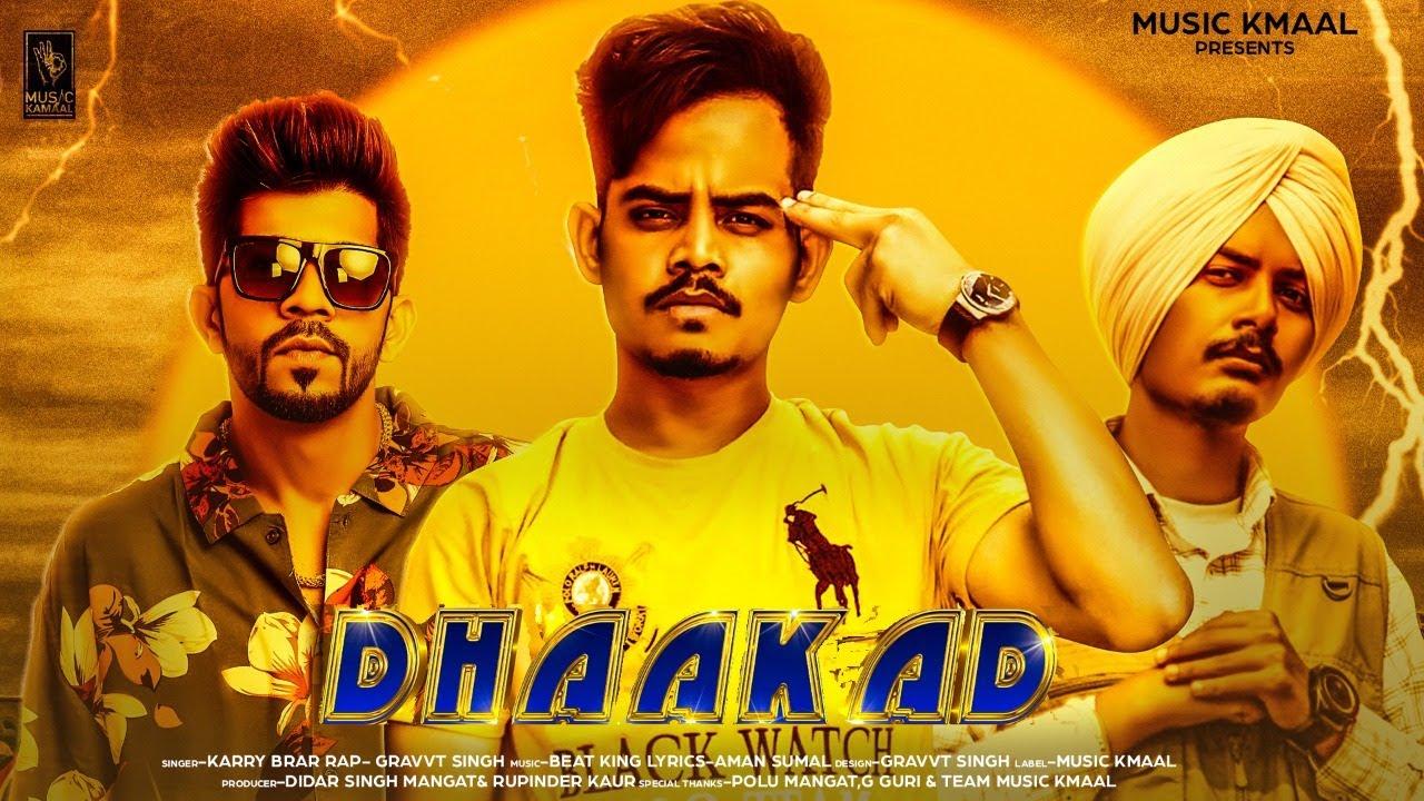Dhaakad   Karry Brar   Beat King   Gravv T Singh   Latest Punjabi Songs 2021   Music Kamaal