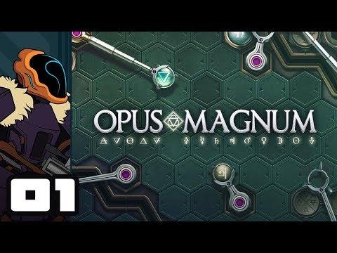 Let's Play Opus Magnum - PC Gameplay Part 1 - Mindbender