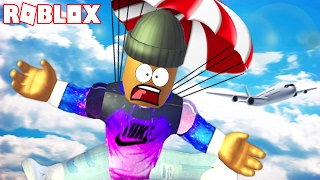 SKYDIVING IN ROBLOX