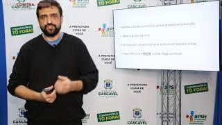 #LiveContraaCovid #3 | Secretário Thiago Stefanello