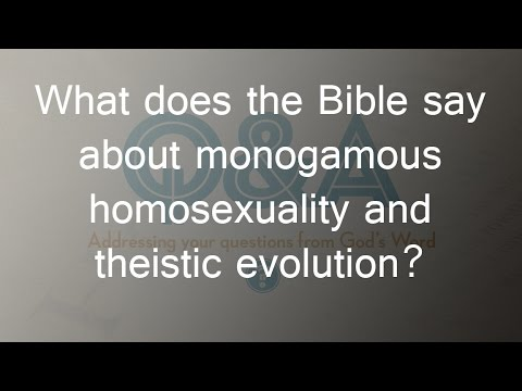 What does the bible say about gays