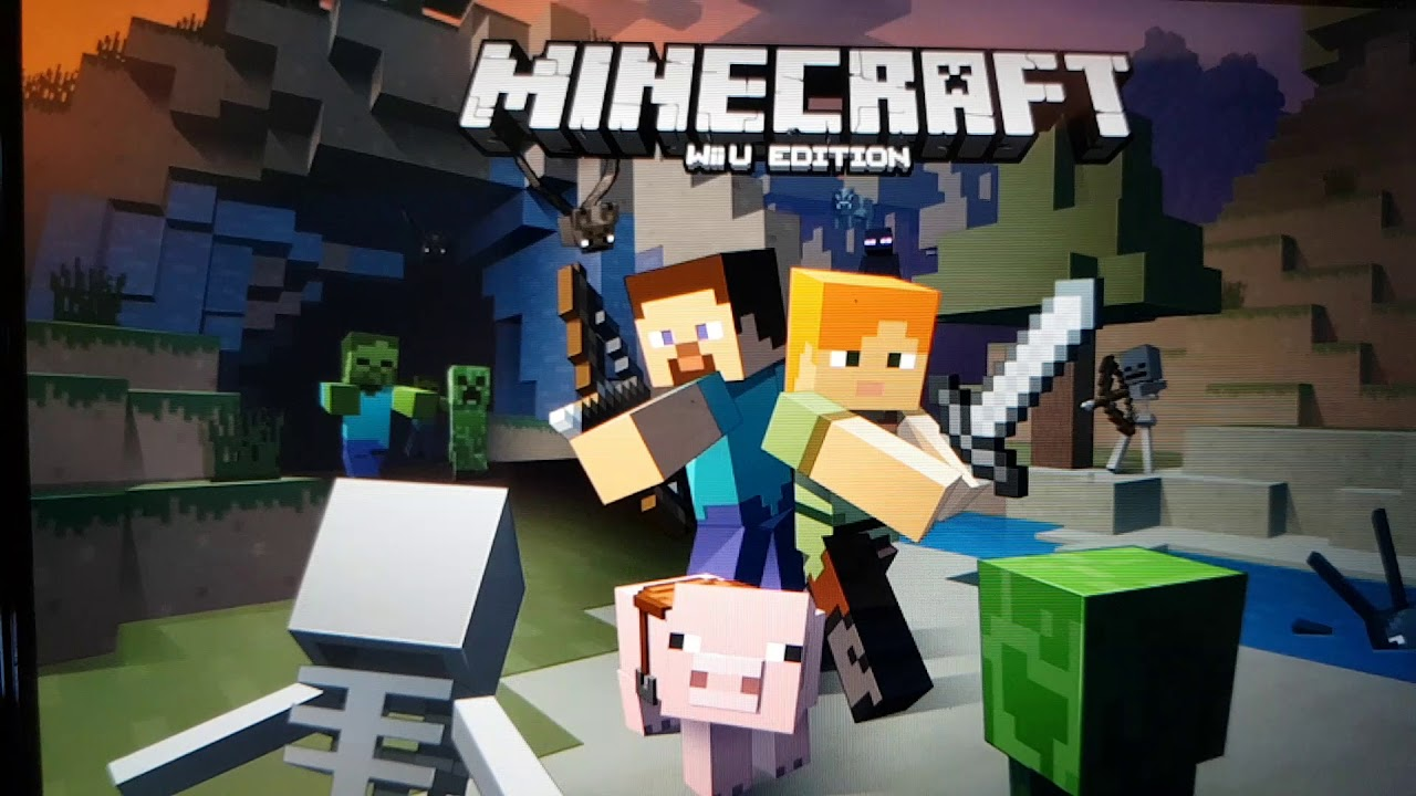Anleitung zum zu zweit spielen Minecraft Wii u Edition - YouTube