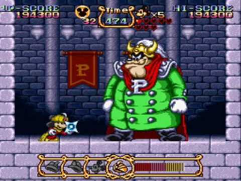 The Magical Quest - Starring Mickey Mouse: All Boss Battles