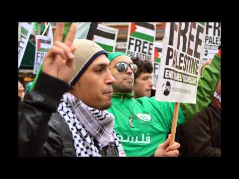 'Stop the Seizure on Gaza' Protest Jan 2014 - J. Spencer Photography