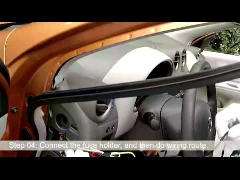 Auto-vox rearview mirror installation guide video - YouTube on