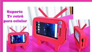 Porta celular e suporte para assistir vídeos!