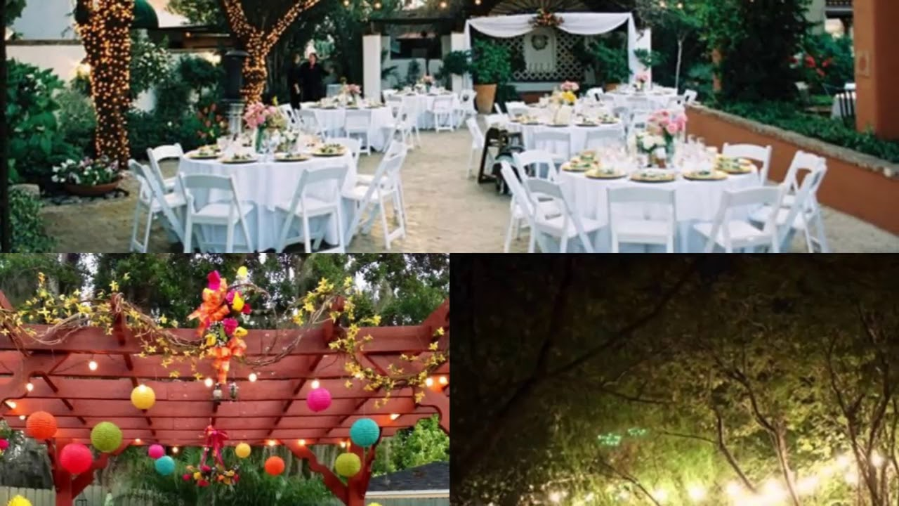 Modern Backyard Backyard Wedding Ideas For Summer On A ...