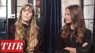 'Euphoria' Alicia Vikander on First Time Producing a Feature Film | TIFF 2017