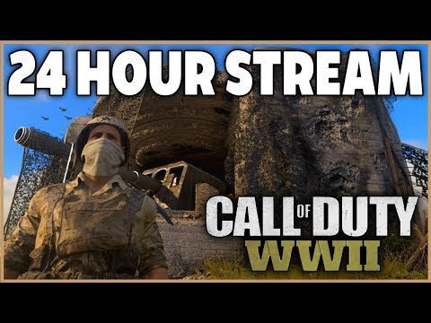 Road to Chrome Continues - 24 HOUR STREAM - Call of Duty: WW2