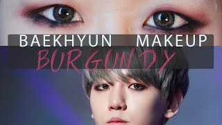 Video EXO Baekhyun SMA 2014 Burgundy Makeup Tutorial || 엑소 백현 버건디 메이크업 download MP3, 3GP, MP4, WEBM, AVI, FLV Juni 2018