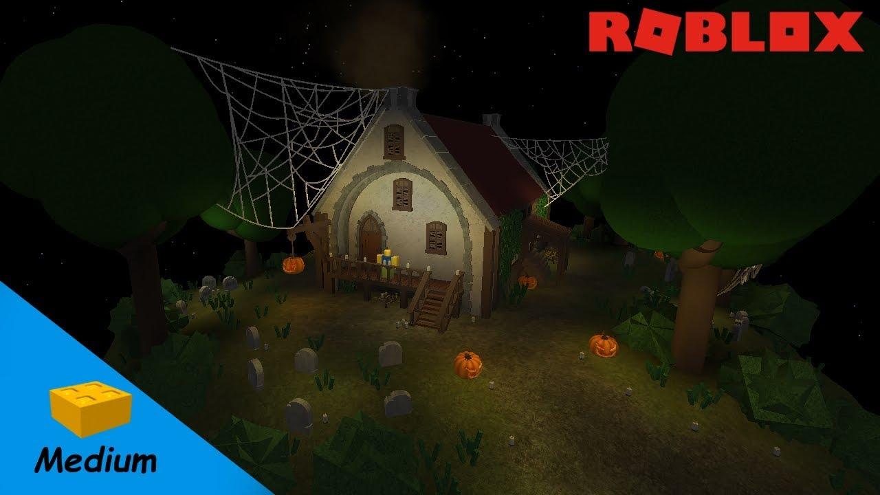 Roblox Studio Speed Build Halloween Special Nr 1 Youtube
