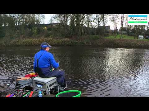 Stick Float Fishing For Roach On The River Ribble