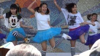 女子小中学生 ダンス01 Junior High School Girls Dance