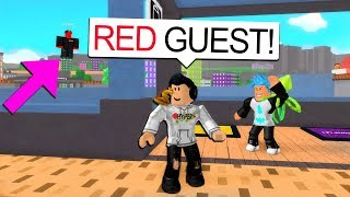 RED GUEST HAS ADMIN COMMANDS IN MY GAME.. (Roblox)