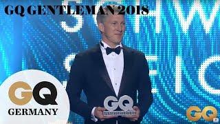 GQ Sports Icon Bastian Schweinsteiger  GQ Men of the Year 2018