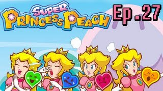 Super Princess Peach Blind Playthrough Ep. 27. Funky Clouds