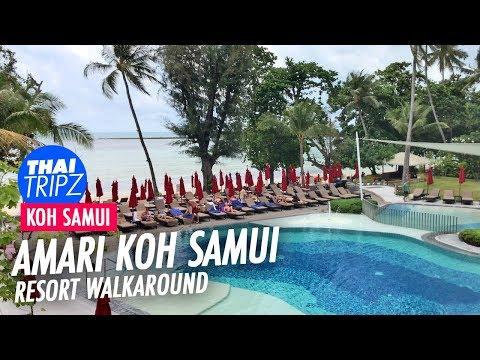 Amari Resort Koh Samui - Walkaround - Thailand - 4K