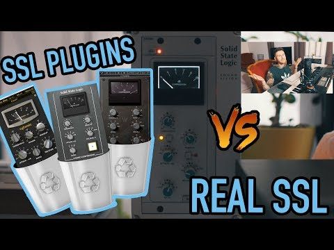 Analog Hardware SSL G Bus Compressor vs The Glue, Waves and UAD SSL Plugins  (Dance/EDM)