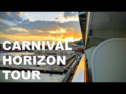Carnival Horizon Full Ship Tour