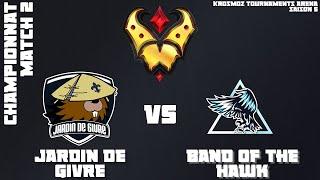 Gold League Championship #4 - Jardin de Givre vs BOTH - Match 2