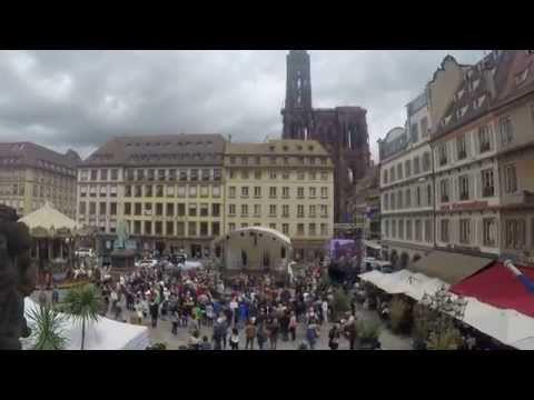 EUROPE DAY 2015: FLASH MOB IN STRASBOURG - ODE TO JOY