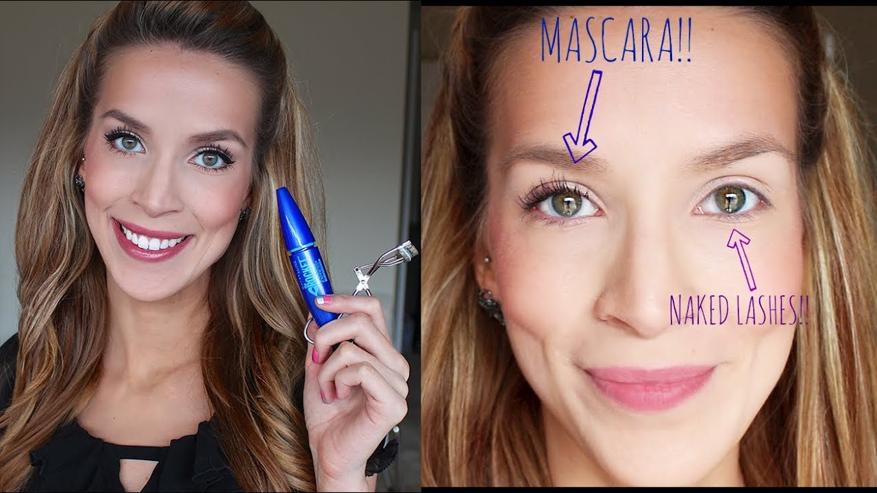 Favorite Mascara How To Keep Straight Lashes Curled Youtube