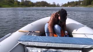 Надувная лодка ПВХ Badger SL430 AL