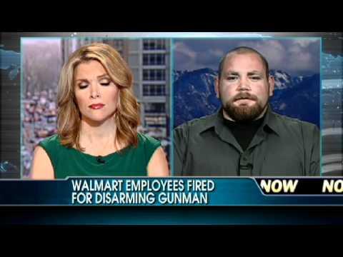 Walmart Employees Fired After Disarming Shoplifter