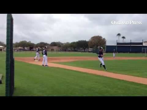 #Tigers infielders taking instruction from Omar Vizquel, then handling some slow rollers