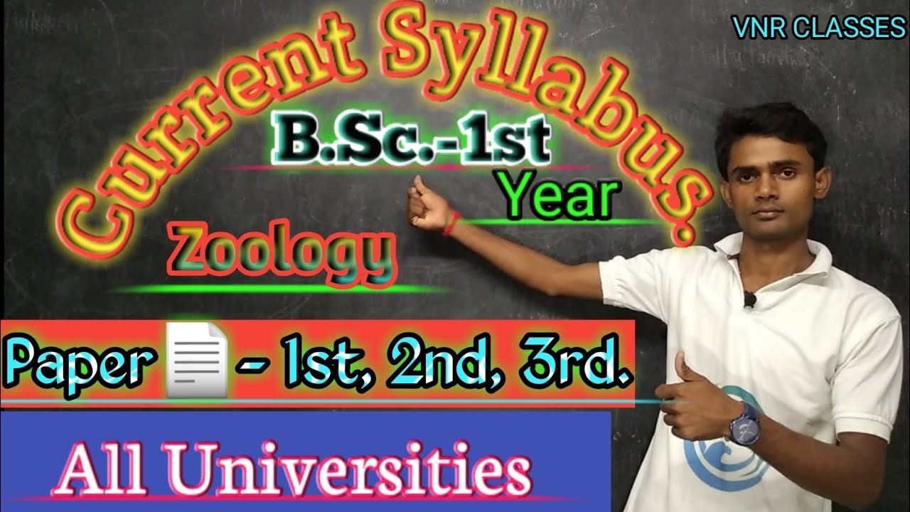 (Lc-1)B.Sc. -1st year Zoology Syllabus 2019- 20
