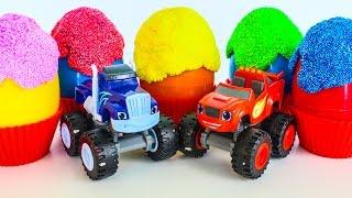 Игрушки Вспыш и чудо машинки новые серии Развивающие мультфильмы про машинки для детей КИНДЕР Вспыш