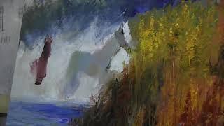 Игорь Сахаров, уроки рисования в Москве, живопись для начинающих 3