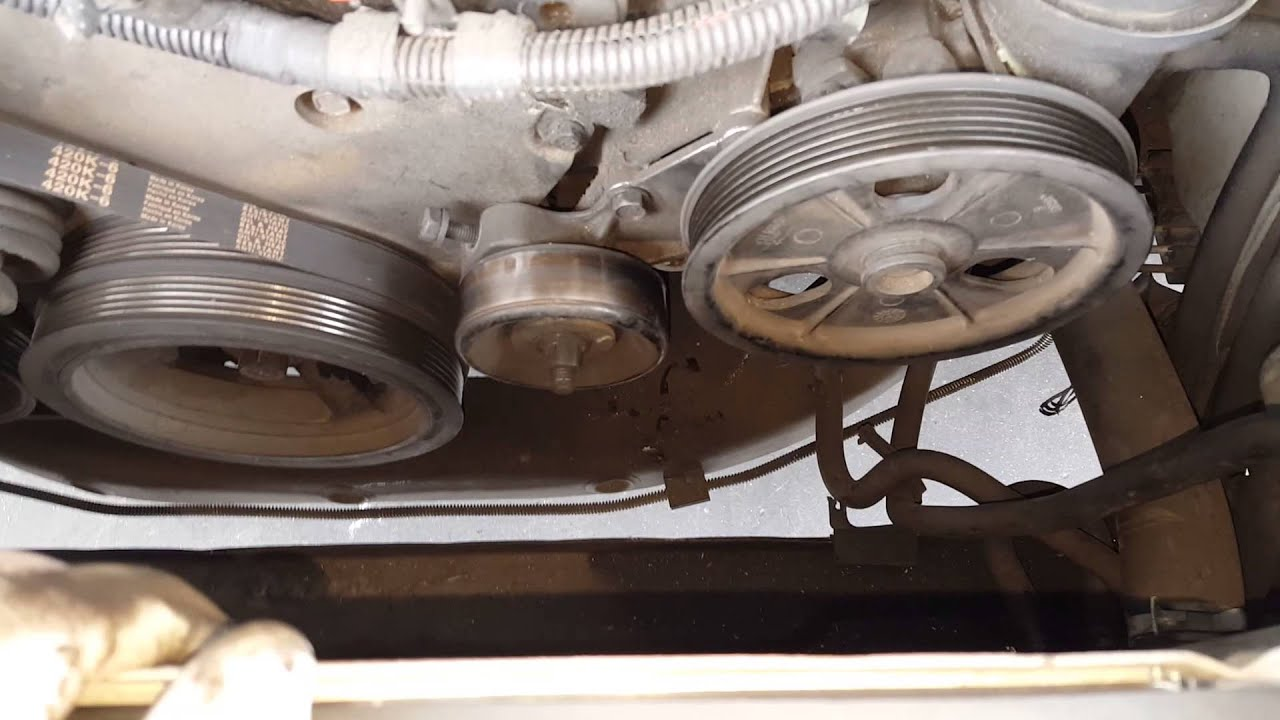 2002 dodge intrepid alternator removal