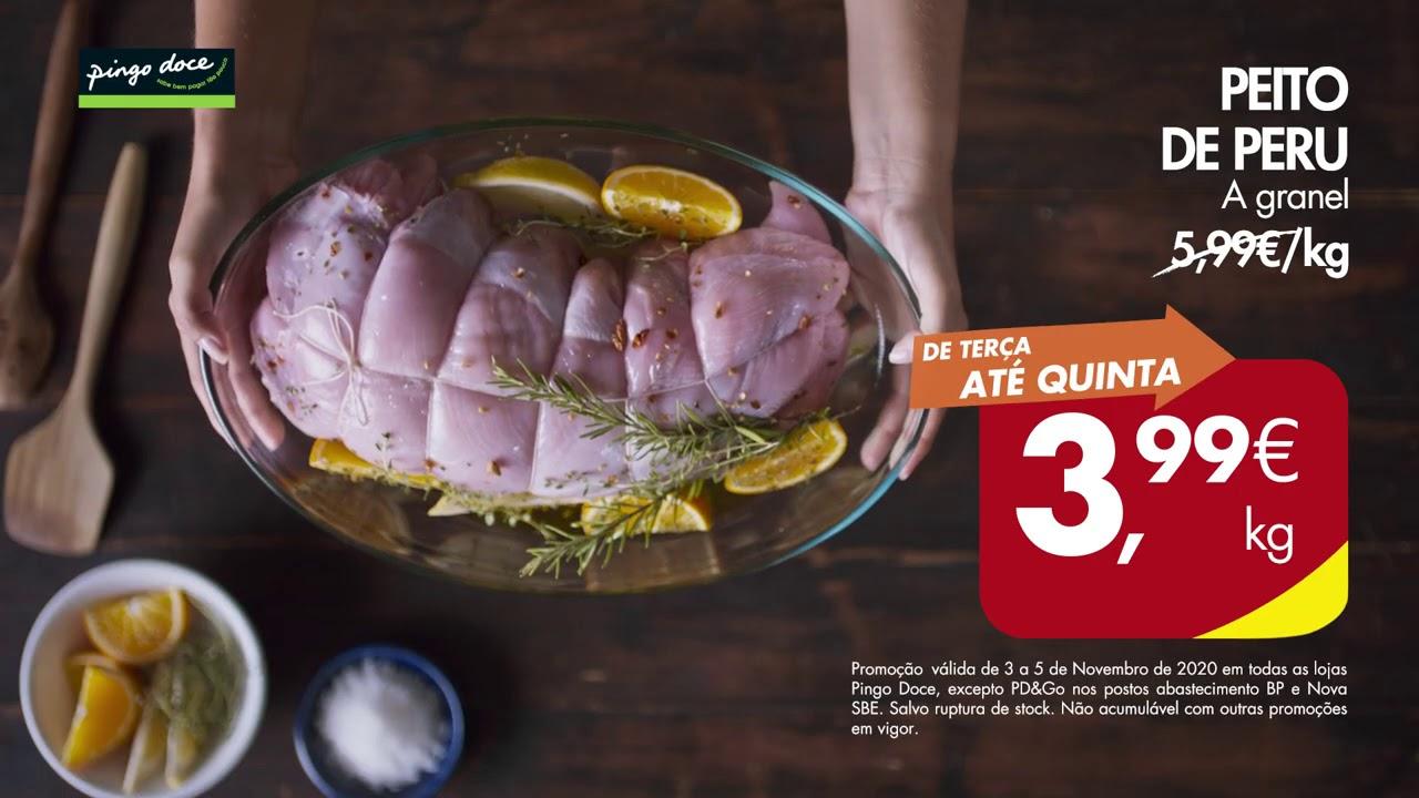Quem faz contas vem ao Pingo Doce | Red Fish Médio congelado a 3,79€/kg e Peito de Perú por 3,99€/kg